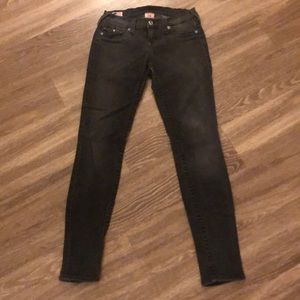 Denim - True Religion Faded black jeans